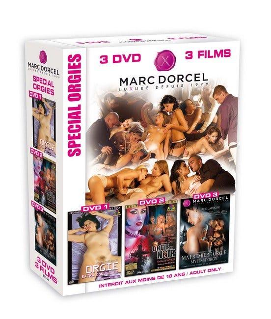 Coffret 3 DVD Orgies