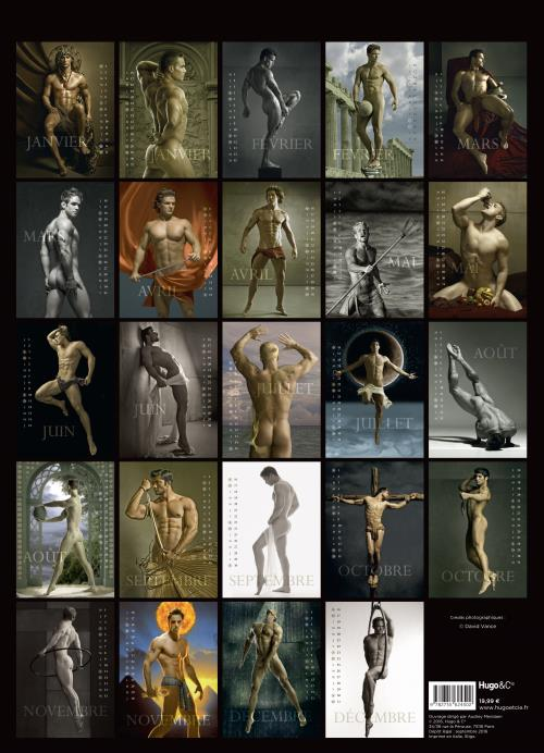 Calendrier Mural Hommes 2017