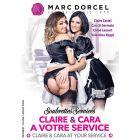 Claire et Cara à votre service - DVD Marc Dorcel