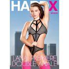 Lana première double anale | Hard X DVD