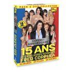 Coffret 6 DVD Fred Coppula Prod 15 ans