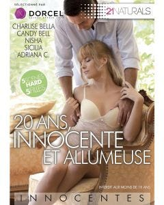 20 ans, innocente et allumeuse - DVD Dorcel