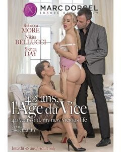 40 ans l'âge du vice - DVD Marc Dorcel