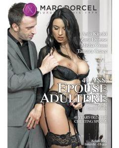 41 ans épouse adultère - DVD Marc Dorcel