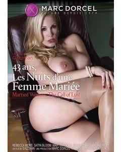 43 ans les nuits d'une femme mariée - DVD Marc Dorcel