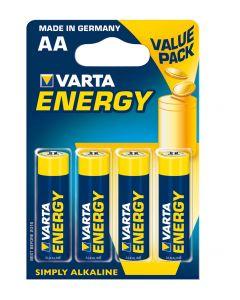4 Piles Varta Energy AA-LR6
