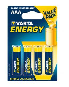 4 Piles Varta Energy AAA-LR3