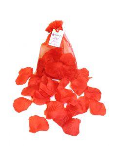 Sachet Organza 100 pétales rouges Dorcel