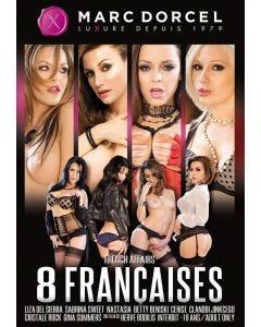 8 Françaises Dorcel film X jaquette