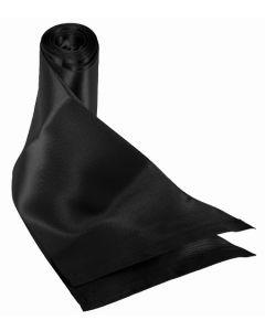 Kit 2 écharpes Noires en Soie