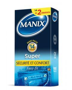 Préservatifs Manix Super * 14+2