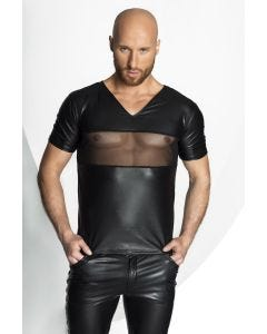 T-Shirt Homme Noir Transparent