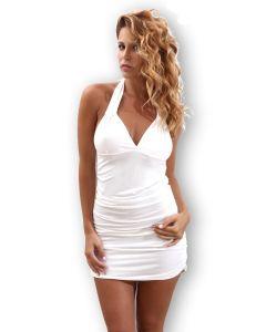 Sexy halter dress with V-neck - Revisim