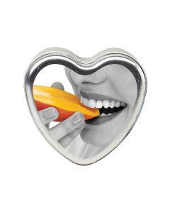 Mango Heart Massage Candle