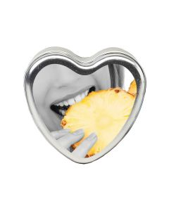 Bougie de Massage Cœur Ananas