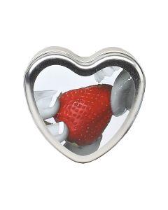 Strawberry Heart Massage Candle