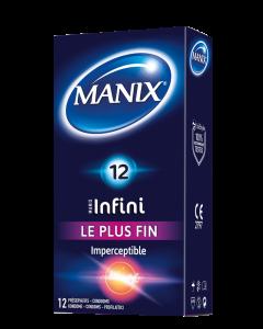 Préservatifs Manix Infini Imperceptible Par 12