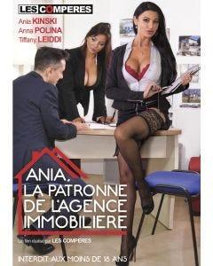 Ania, la patronne de l'agence immobilière - DVD Les Compères