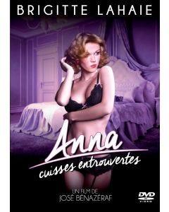 Anna cuisses entrouvertes - DVD Brigitte Lahaie