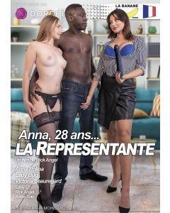Anna 28 ans la représentante - DVD Dorcel