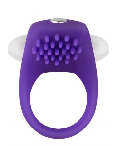 Vibrating Penis Ring Colorful Purple - Play and Love