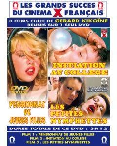 Pensionnat De Jeunes Filles - Initiation Au College - Les Petites Nymphettes - DVD Blue One