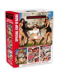 Coffret 3 DVD special Cap d'Agde