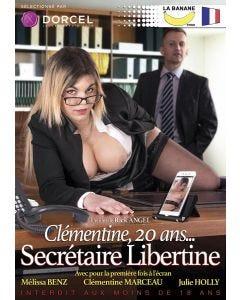 Clémentine 20 ans… Secrétaire libertine - DVD Dorcel