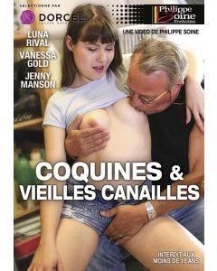 Coquines et vieilles canailles - DVD Dorcel