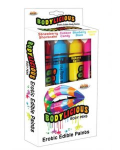 Crayons de Couleurs Body Painting Comestible