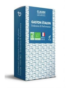 Gaston Étalon Aphrodisiaque Masculin Bio x30