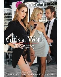 Girls at work - the agency - DVD Marc Dorcel