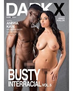 Busty interracial 5 - DVD Dark X