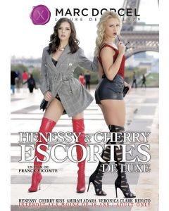 Henessy et Cherry escortes de luxe - DVD Marc Dorcel