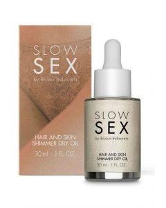 Huile Sèche Brillante Corps et Cheveux Coco Slow Sex - Packaging
