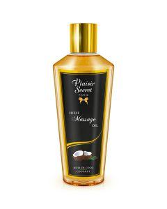 Huile sèche de massage coco - Plaisir secret
