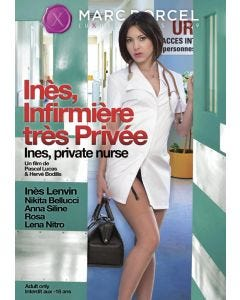 Inès infirmière très privée - DVD Dorcel
