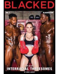 Interracial Threesomes 7 - DVD Blacked