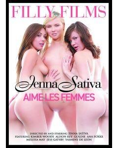 Jenna Sativa aime les femmes - DVD Filly Films