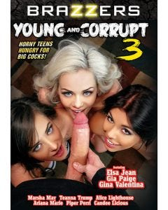 Young and corrupt 3 - DVD Brazzers