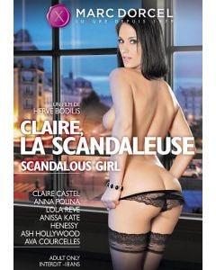 Claire, la scandaleuse - DVD Marc Dorcel