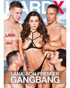 Lana, son premier gang-bang - Hard X