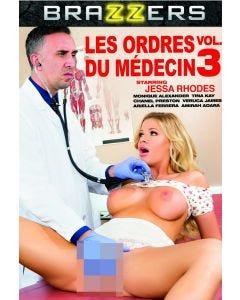Les ordres du médecin 3 - DVD Brazzers