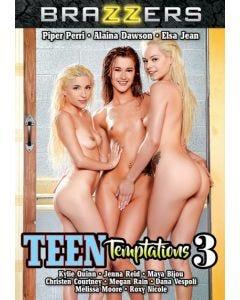 Teen Temptations 3 - DVD Brazzers
