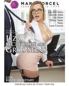Liza secrétaire aux gros seins - DVD Marc Dorcel