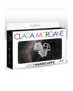 Menottes Love Handcuffs Fourrure Noire | Clara Morgane