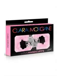 Menottes Love Handcuffs Fourrure Rose