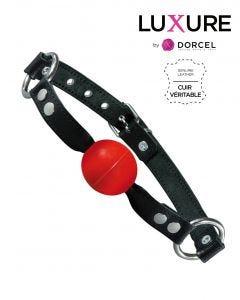 Ballgag Normal Rouge Luxure By Dorcel