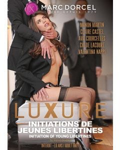 Luxure initiation de jeune libertine - DVD Marc Dorcel