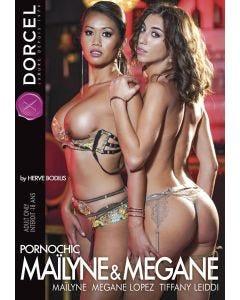 Maïlyne and Megane Pornochic - DVD Dorcel